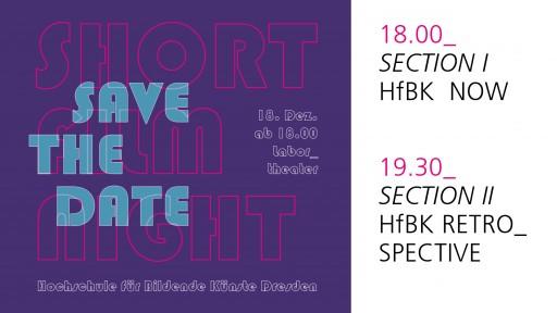 SHORT FILM NIGHT | HfBK Dresden